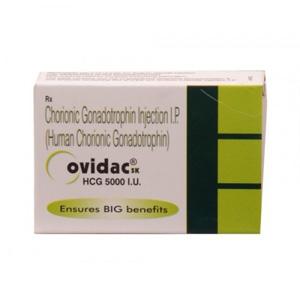 Hormoner og peptider i Norge: lave priser for Ovidac 5000 IU i Norge: