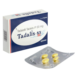 , in USA: low prices for Tadalis SX 20 in USA