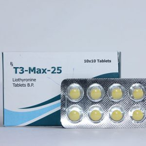 Liothyronine (T3) in USA: low prices for T3-Max-25 in USA