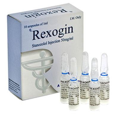 Injiserbare steroider i Norge: lave priser for Rexogin i Norge: