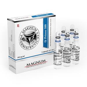 Injiserbare steroider i Norge: lave priser for Magnum Primo 100 i Norge: