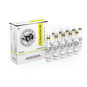 Injiserbare steroider i Norge: lave priser for Magnum Stanol-AQ 100 i Norge: