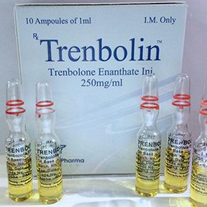 Injiserbare steroider i Norge: lave priser for Trenbolin (ampoules) i Norge: