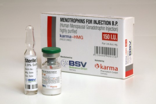 Hormoner og peptider i Norge: lave priser for HMG 150IU (Humog 150) i Norge: