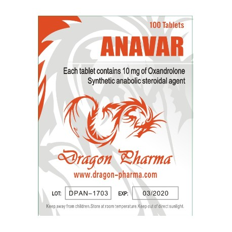 Orale steroider i Norge: lave priser for Anavar 10 i Norge: